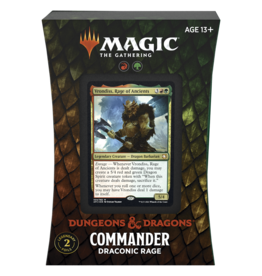 WIZARDS OF THE COAST FORGOTTEN REALMS COMMANDER DECK: DRACONIC RAGE