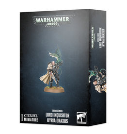 GAMES WORKSHOP WH40K ORDO XENOS LORD INQUISITOR KYRIA DRAXUS