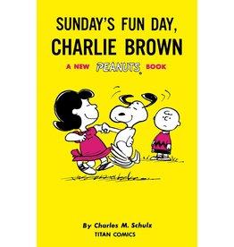TITAN COMICS SUNDAYS FUN DAY CHARLIE BROWN SC