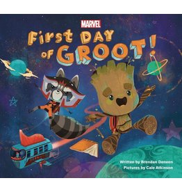 MARVEL PRESS FIRST DAY OF GROOT YR BOARD BOOK