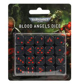 GAMES WORKSHOP WARHAMMER 40K BLOOD ANGELS DICE