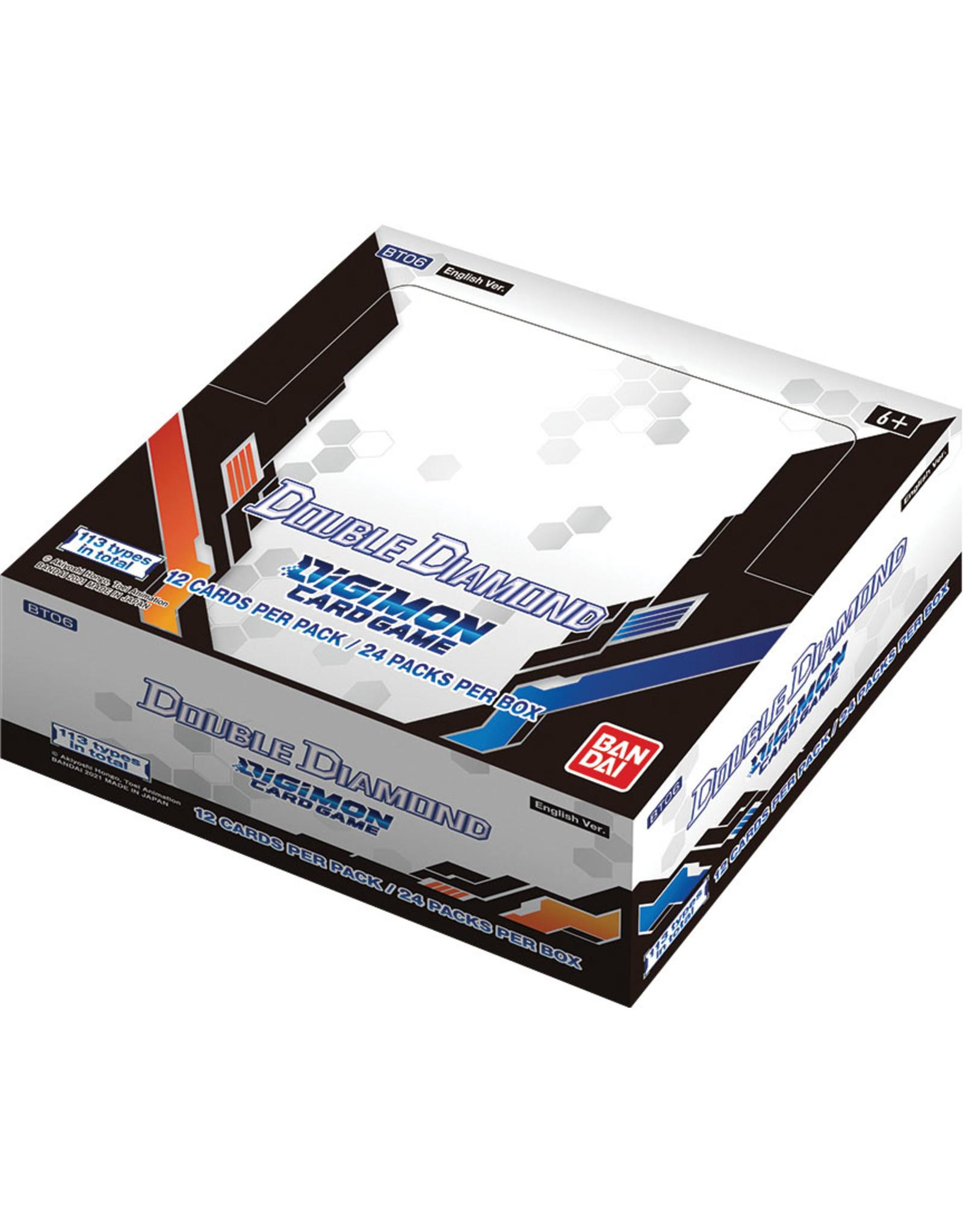 DIGIMON TCG DOUBLE DIAMOND BOOSTER BOX PRE-ORDER