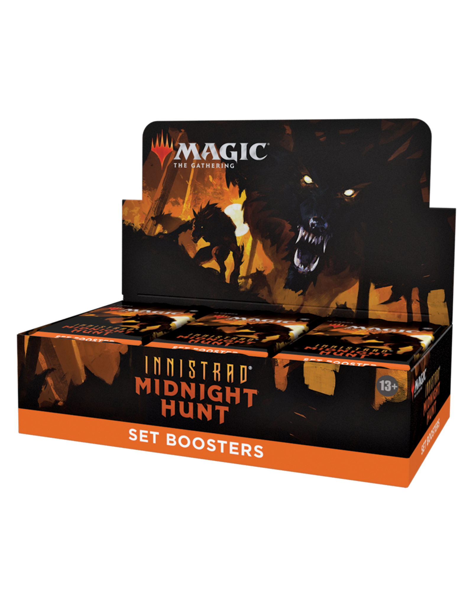 WIZARDS OF THE COAST MAGIC THE GATHERING INNISTRAD MIDNIGHT HUNT SET BOOSTER BOX