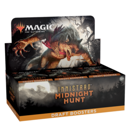 WIZARDS OF THE COAST INNISTRAD MIDNIGHT HUNT DRAFT BOOSTER BOX