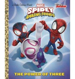 GOLDEN BOOKS SPIDER-MAN & HIS AMAZING FRIENDS POWER OF 3 GOLDEN BOOK