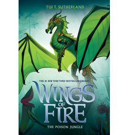 SCHOLASTIC INC. WINGS OF FIRE THE POISON JUNGLE BOOK 13