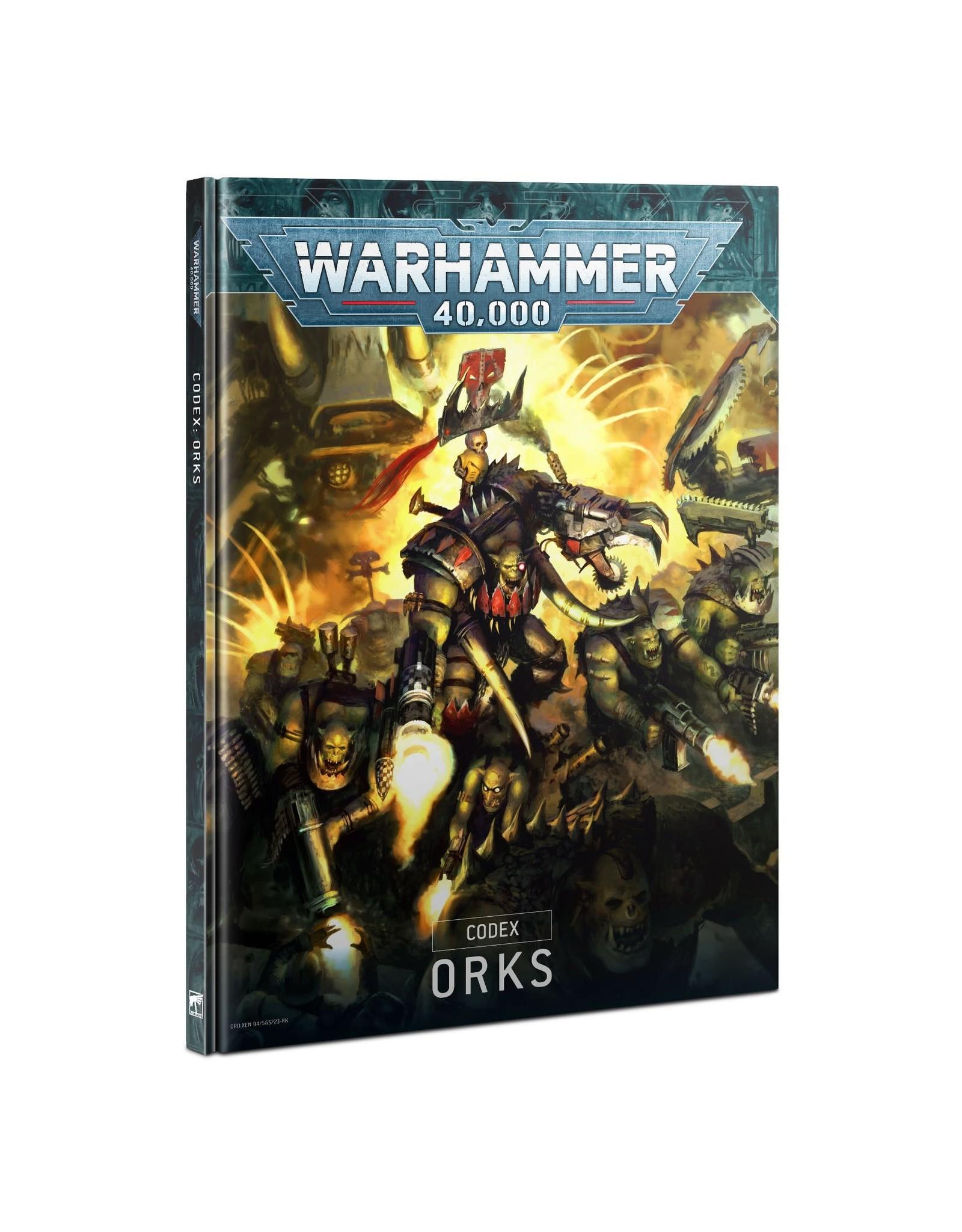 GAMES WORKSHOP WARHAMMER 40,000 CODEX: ORKS