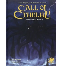 CHAOSIUM GAMES INC CALL OF CTHULHU: KEEPER RULEBOOK