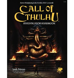 CHAOSIUM GAMES INC CALL OF CTHULHU RPG INVESTIGATORS HANDBOOK
