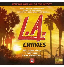 PORTAL GAMES DETECTIVE: A MODERN CRIME BOARD GAME - L.A. CRIMES