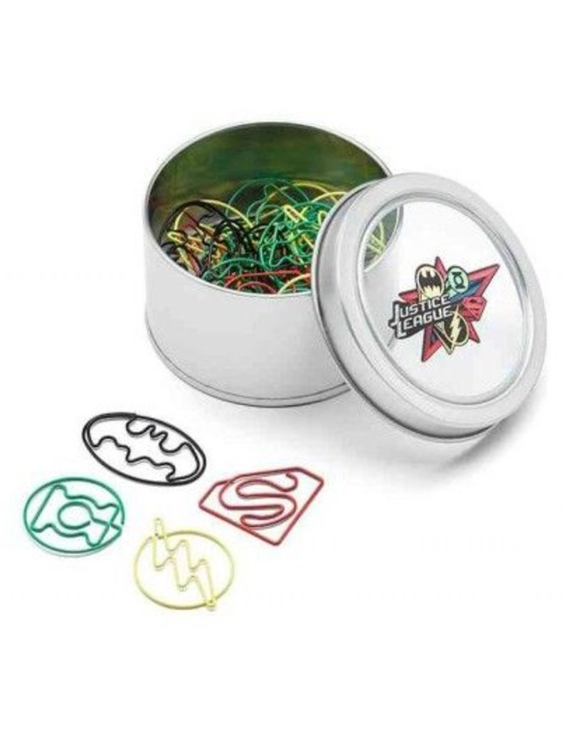 JUSTICE LEAGUE 40PC PX PAPER CLIP SET