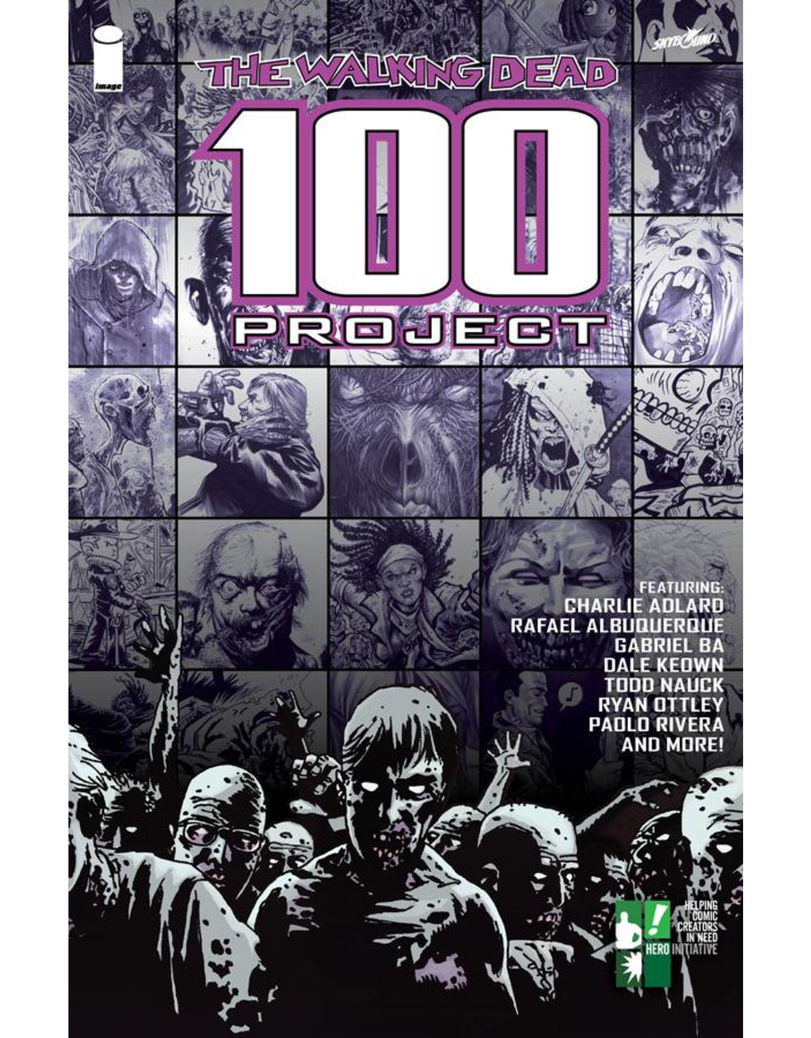 IMAGE COMICS WALKING DEAD 100 PROJECT TP