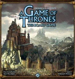 FANATASY FLIGHT GAMES GAME OF THRONES BOARD GAME 2ND ED