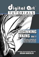 IMAGE COMICS DIGITAL ART TUTORIALS BEGINNING INKING CD ROM