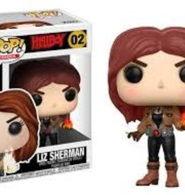 FUNKO POP HELLBOY COMICS LIZ SHERMAN VINYL FIG
