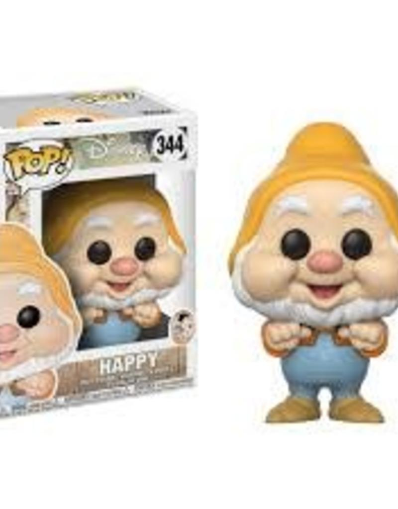 FUNKO POP SNOW WHITE 2017- HAPPY VINYL FIGURE