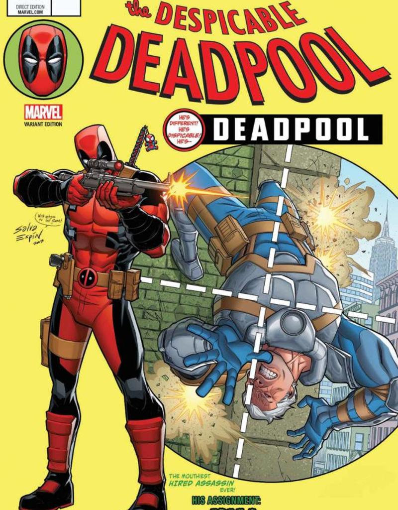 MARVEL COMICS DESPICABLE DEADPOOL #287 ESPIN LH VAR LEG