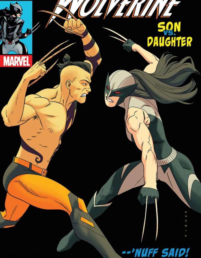 MARVEL COMICS ALL NEW WOLVERINE #25 ANKA LH VAR LEG