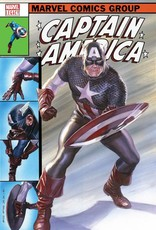 MARVEL COMICS CAPTAIN AMERICA #695 ALEX ROSS LH VAR LEG