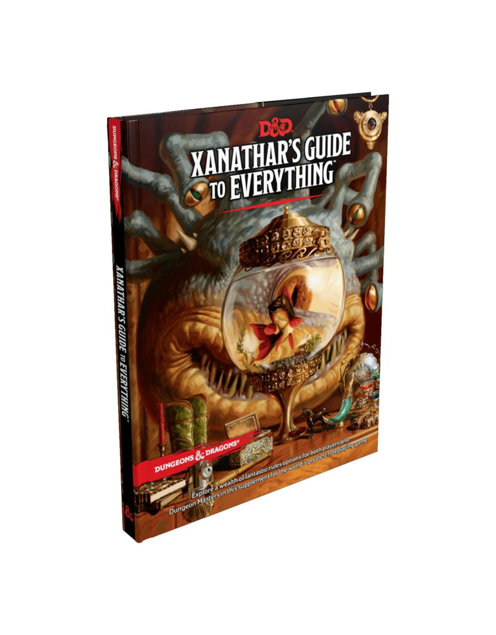 WIZARDS OF THE COAST DUNGEONS & DRAGONS 5E XANATHAR'S GUIDE TO EVERYTHING