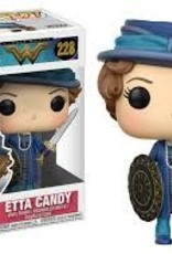 FUNKO POP WONDER WOMAN ETTA CANDY /W SWORD & SHIELD VINYL FIG