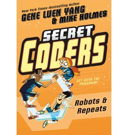 :01 FIRST SECOND SECRET CODERS GN VOL 04 ROBOTS & REPEATS