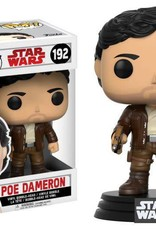 FUNKO STAR WARS EP8 POE DAMERON POP VINYL FIGURE