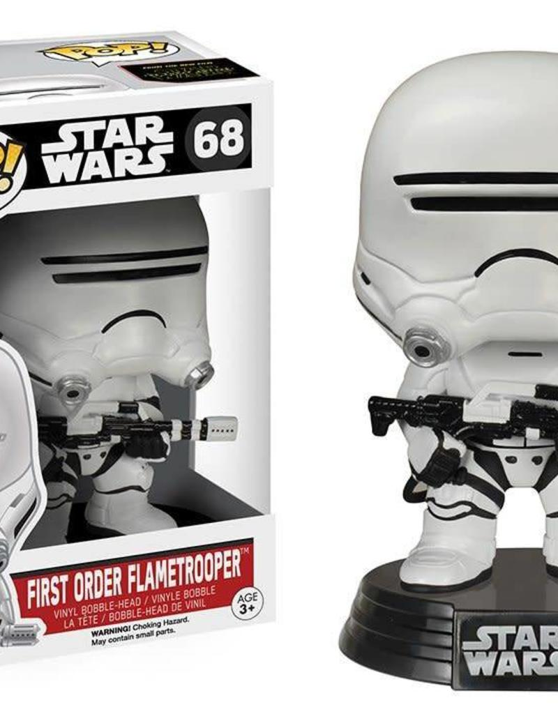 FUNKO POP STAR WARS EP8 FIRST ORDER FLAMETROOPER