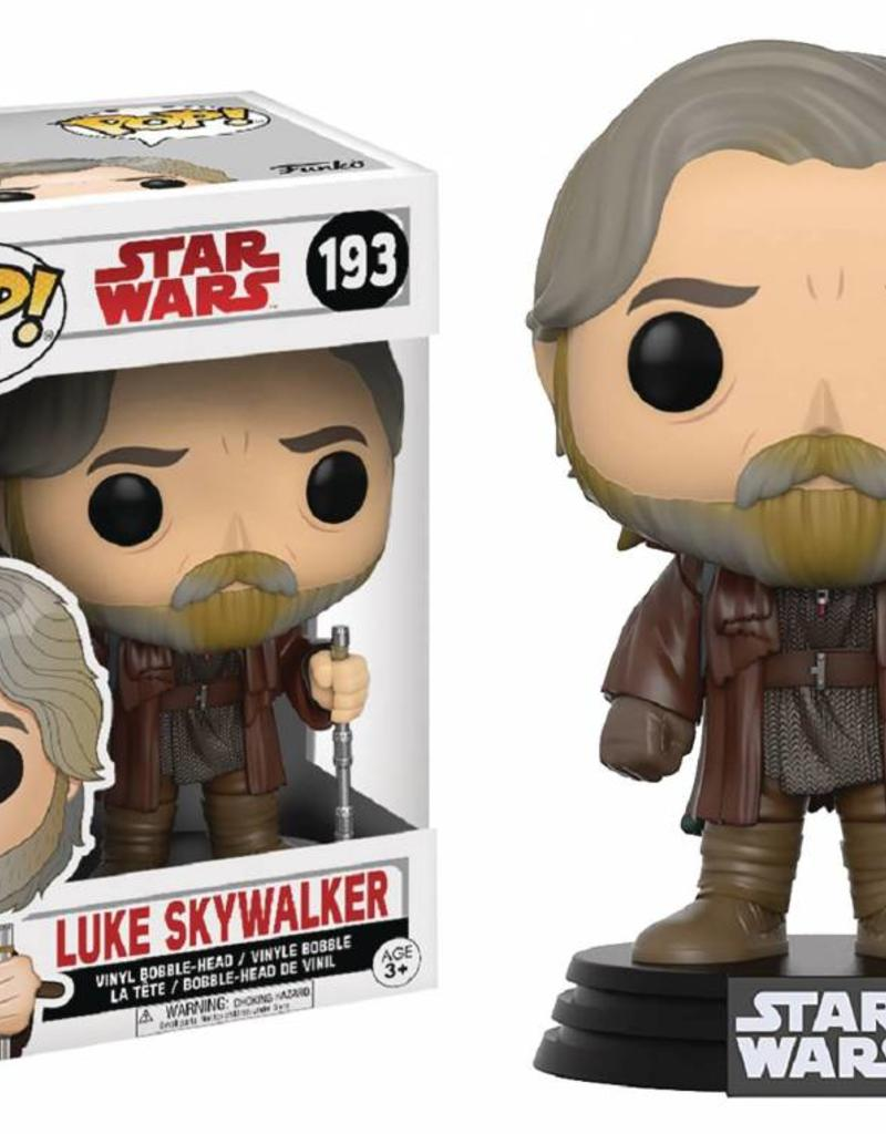 FUNKO STAR WARS EP8 LUKE SKYWALKER POP VINYL FIGURE