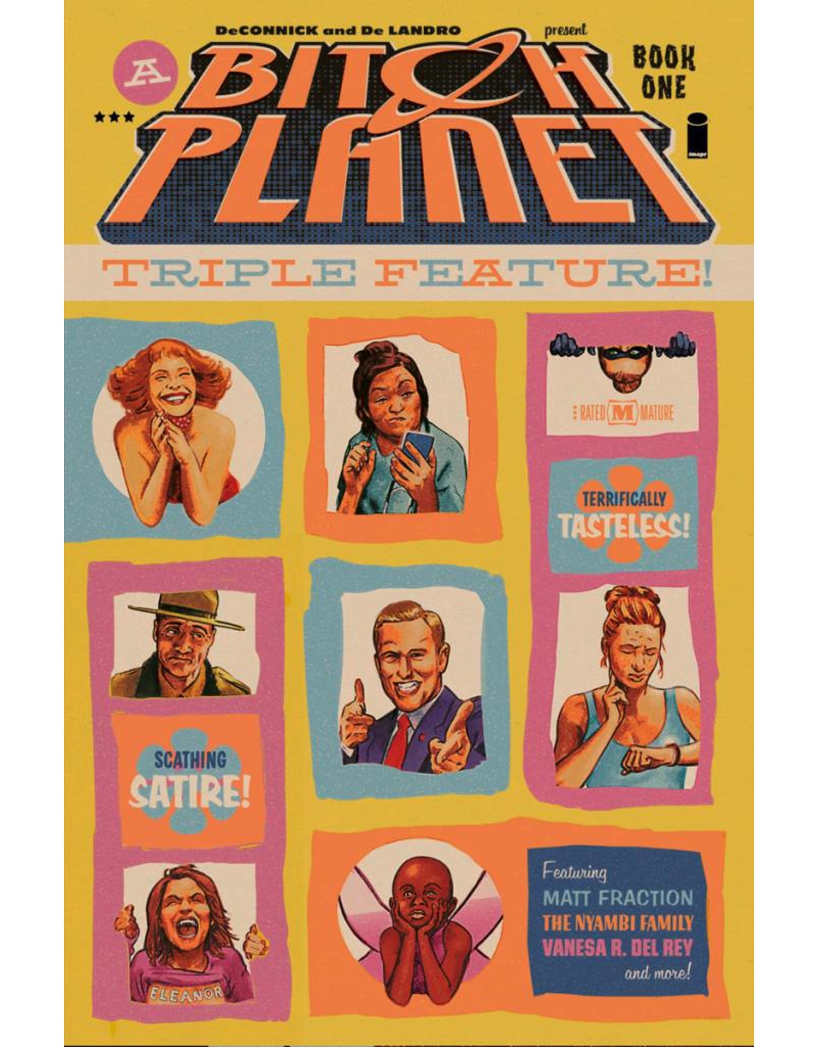 IMAGE COMICS BITCH PLANET TRIPLE FEATURE TP VOL 01