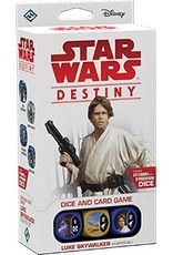 FANTASY FLIGHT GAMES STAR WARS DESTINY LUKE SKYWALKER STARTER SET