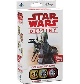 FANTASY FLIGHT GAMES STAR WARS DESTINY BOBA FETT STARTER SET