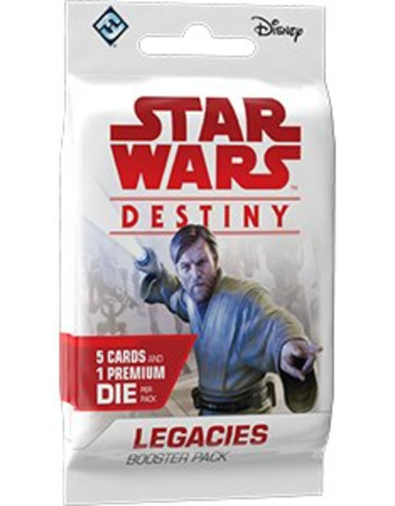 FANTASY FLIGHT GAMES STAR WARS DESTINY LEGACIES BOOSTER PACK