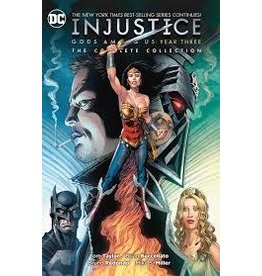 DC COMICS INJUSTICE GODS AMONG US YEAR THREE COMPLETE COLLECTION