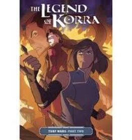 DARK HORSE COMICS LEGEND OF KORRA TP VOL 02 TURF WARS PT 2