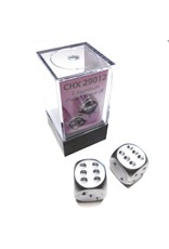 CHESSEX CHX 29012 16MM 2PC D6 SET ALUMINUM PLATED