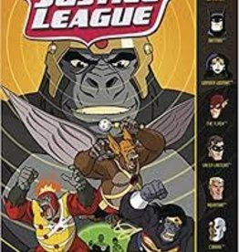 CAPSTONE PRESS JUSTICE LEAGUE YR TP GORILLA GRODD & PRIMATE PROTOCOL