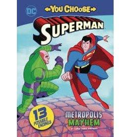 CAPSTONE PRESS SUPERMAN YOU CHOOSE YR STORIES METROPOLIS MAYHEM