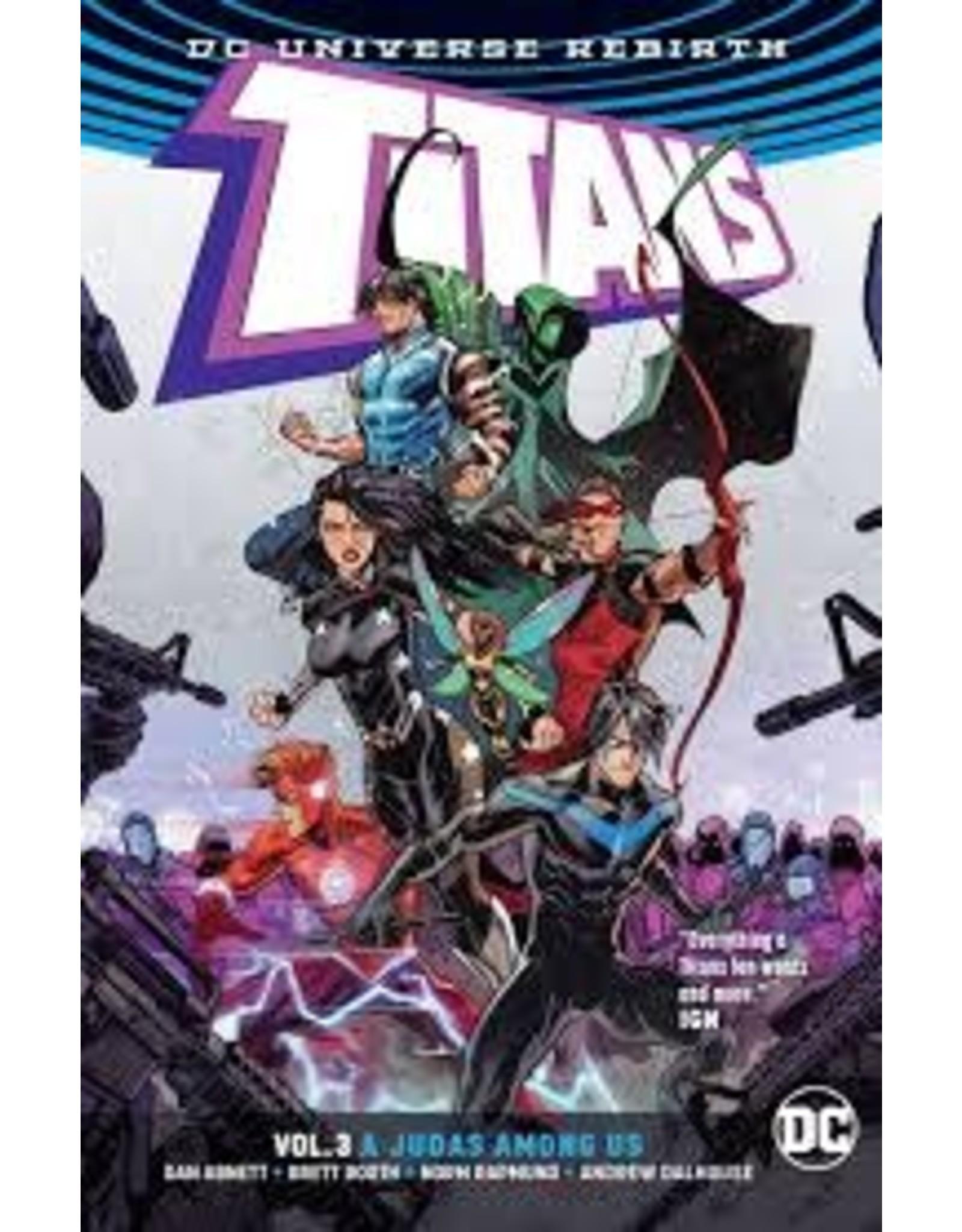DC COMICS TITANS TP VOL 03 A JUDAS AMONG US REBIRTH