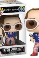 FUNKO POP ROCK ELTON JOHN RED WHITE & BLUE VINYL FIG