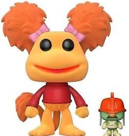 FUNKO POP FRAGGLE ROCK RED WITH DOOZER VINYL FIG SPECIALTY SERIES