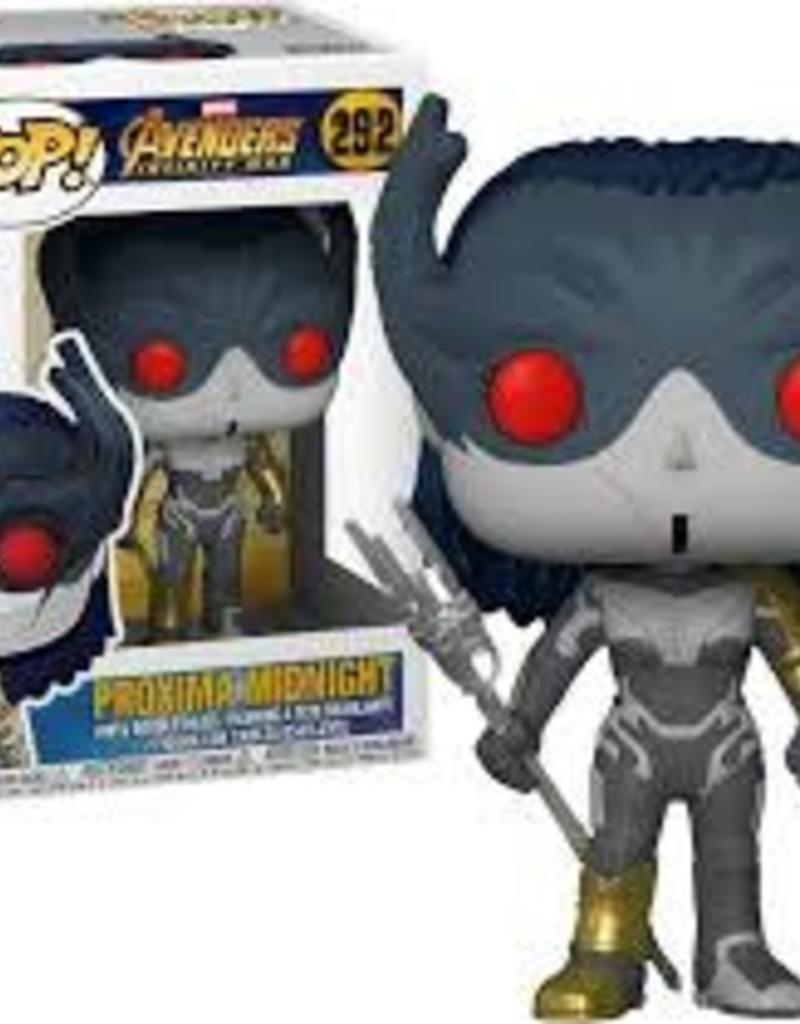 FUNKO POP AVENGERS INFINITY WAR PROXIMA MIDNIGHT VINYL FIG