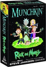 STEVE JACKSON GAMES RICK AND MORTY MUNCHKIN
