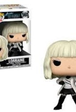 FUNKO POP ATOMIC BLONDE LORRAINE WHITE COAT VINYL FIG