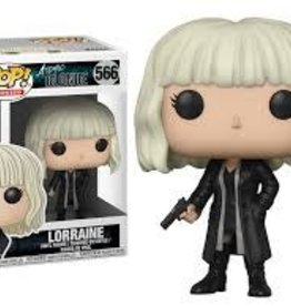 FUNKO POP ATOMIC BLONDE LORRAINE W/ GUN VINYL FIG