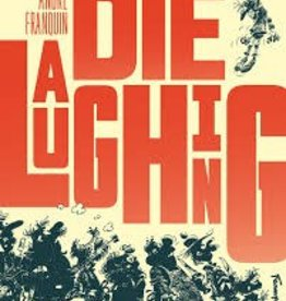 FANTAGRAPHICS BOOKS DIE LAUGHING HC FRANQUIN