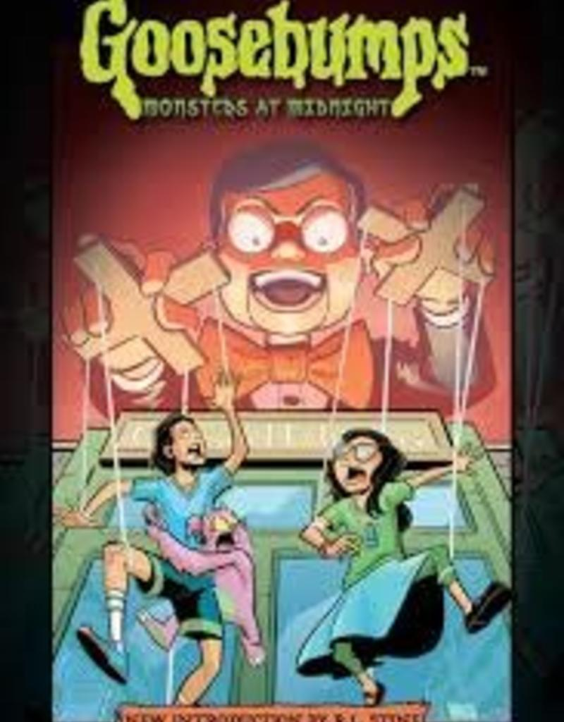 IDW PUBLISHING GOOSEBUMPS MONSTERS AT MIDNIGHT HC