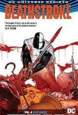 DC COMICS DEATHSTROKE TP VOL 04 DEFIANCE REBIRTH