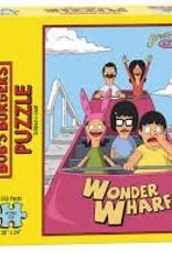USAOPOLY BOBS BURGERS SCREAM-I-CANE PUZZLE 550 PIECES