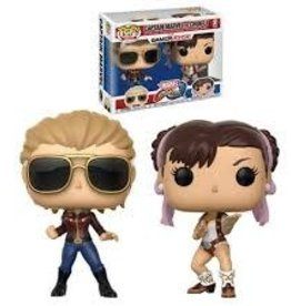 FUNKO POP MARVEL VS CAPCOM CAPTAIN MARVEL CHUN-LI 2 PACK VINYL FIG